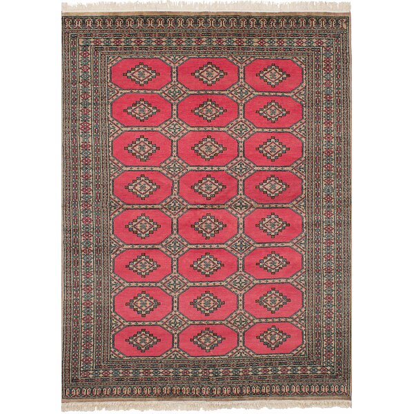 One-of-a-Kind Do Hand-Knotted Wool Light Red Indoor Area Rug by Isabelline