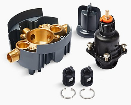 Rite-Temp® Pressure-Balancing Valve Body and Cartridge Kit with Service Stops by Kohler