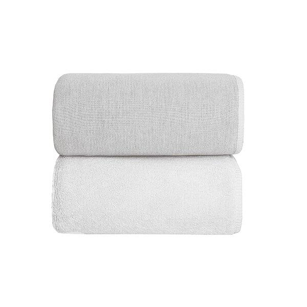 Graciozza Bio Luxury Linen Duo 6 Piece Bath Towel Set by The St.Pierre Home Fashion Collection