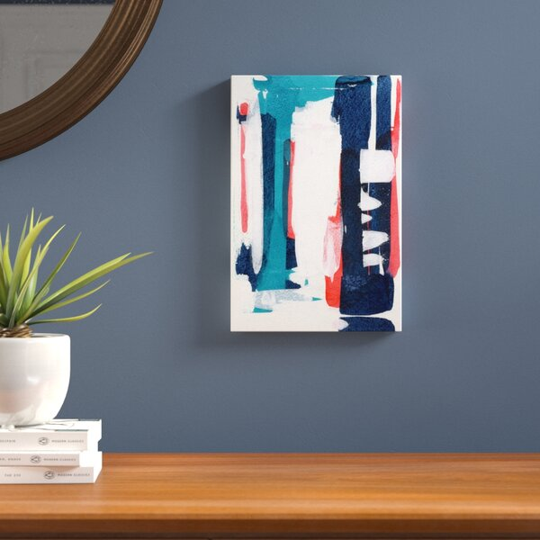 Perfect Couple II Painting Print on Wrapped Canvas by Langley Street