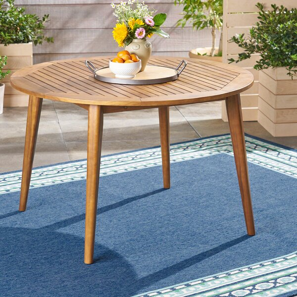 Gardner Solid Wood Dining Table by George Oliver