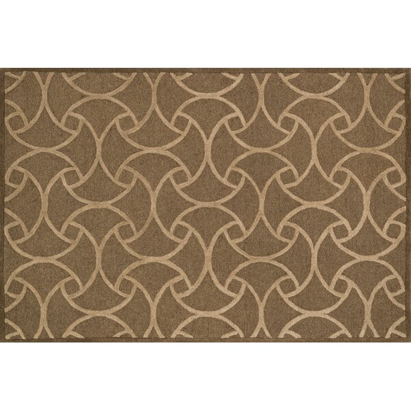 Cleary Light Brown/Beige Area Rug by Fleur De Lis Living