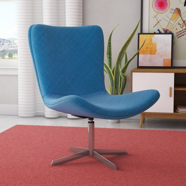 Annabell Mid Back Desk Chair By Wade Logan ♎ Footstool Or