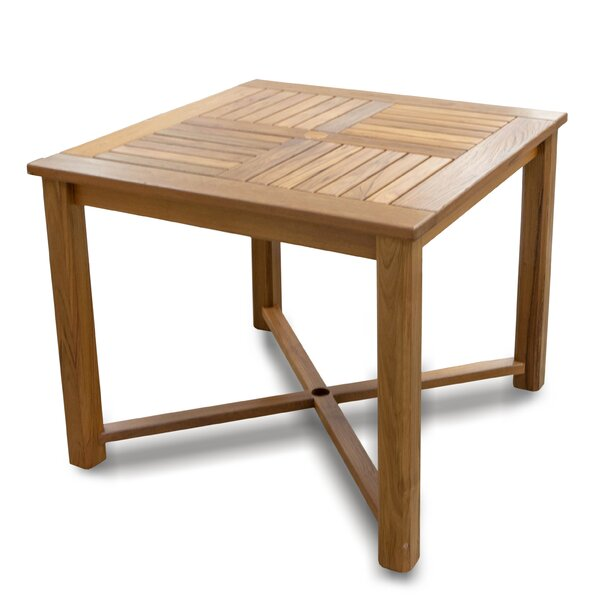Friar Teak Dining Table by Whitecap Teak
