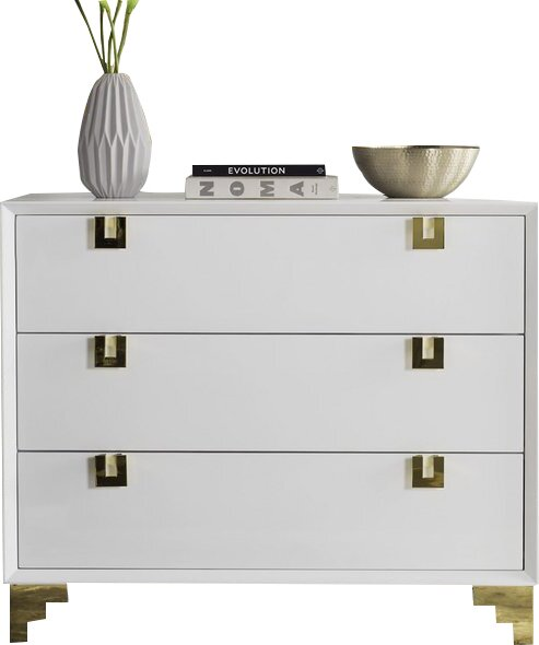 Beaufort 3 Drawer Chest by Willa Arlo Interiors Willa Arlo Interiors