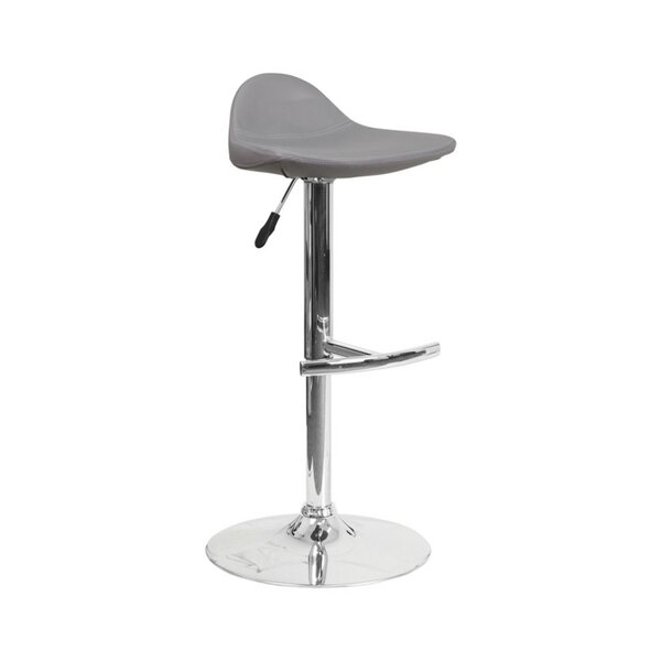 Derick Adjustable Height Swivel Bar Stool by Latitude Run