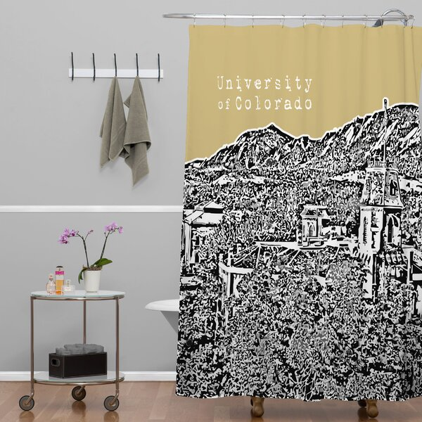 Bird Ave University of Colorado Shower Curtain by Deny Designs