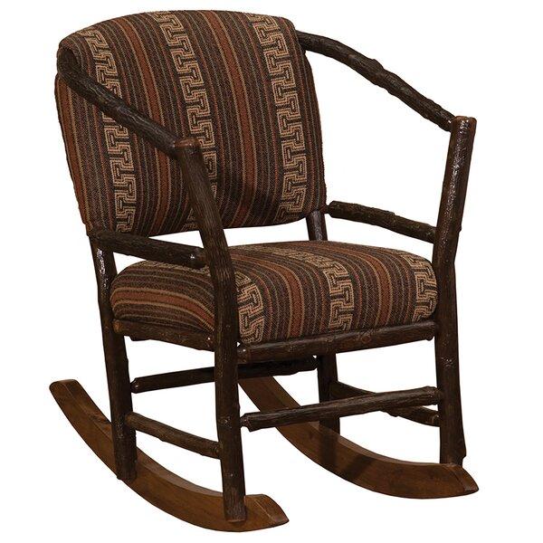 Top Design Boughton Oak Rocking Chair By Highland Dunes