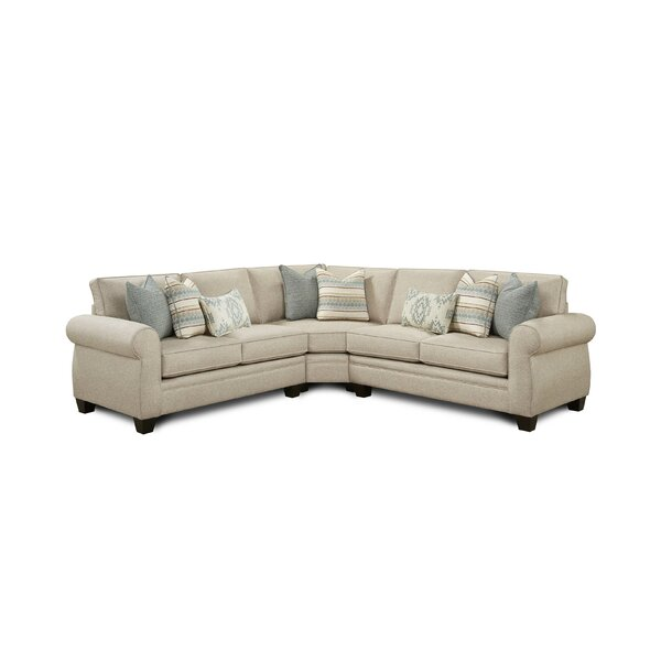 Fenster Reversible Sectional by Darby Home Co