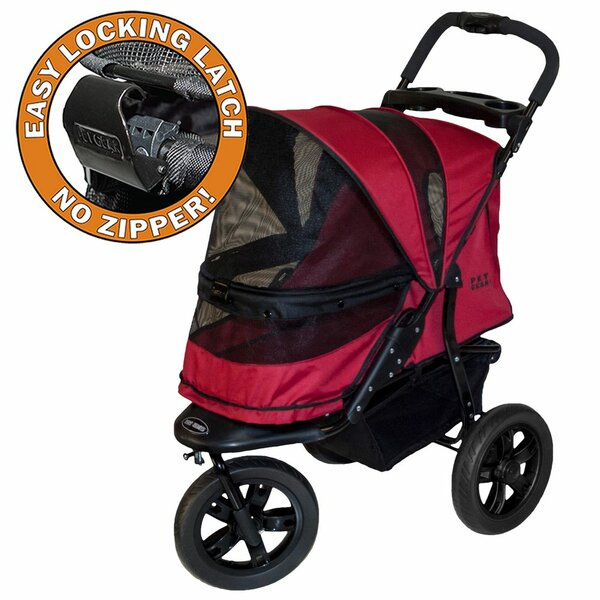 AT3 NO-ZIP Pet Stroller by Pet Gear
