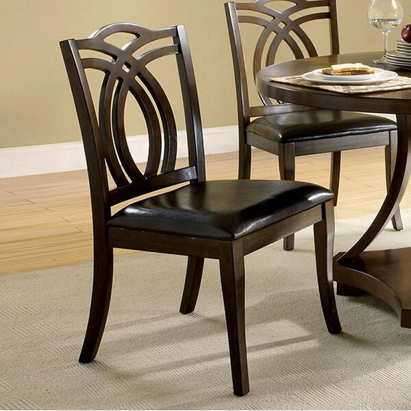 Jennilee Solid Wood Dining Chair (Set of 2) by Red Barrel Studio