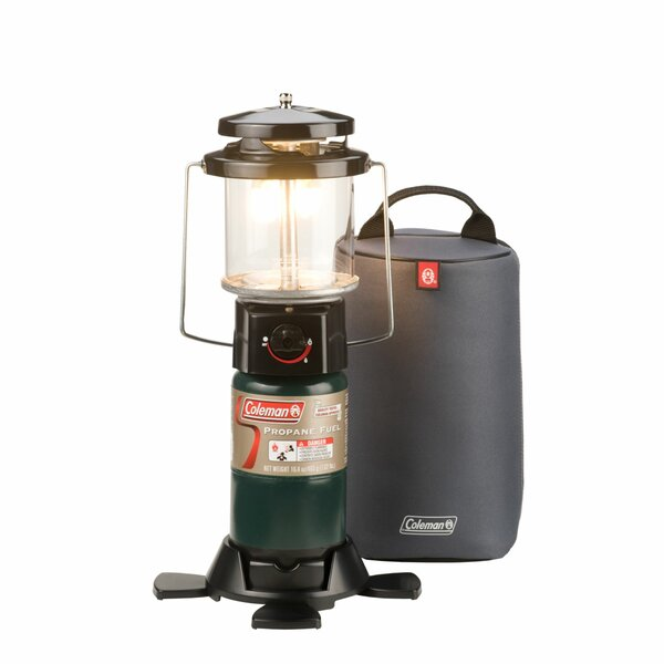 Deluxe PerfectFlow 2-Mantle Propane Lantern w/ Padded Case by Coleman