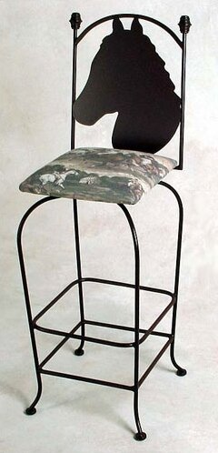 Equestrian 30 Bar Stool by Grace Collection