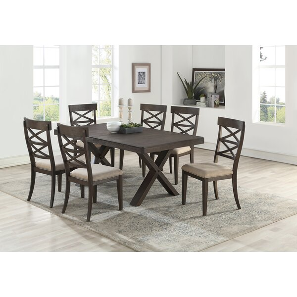 Cho 7 Piece Dining Set by Gracie Oaks