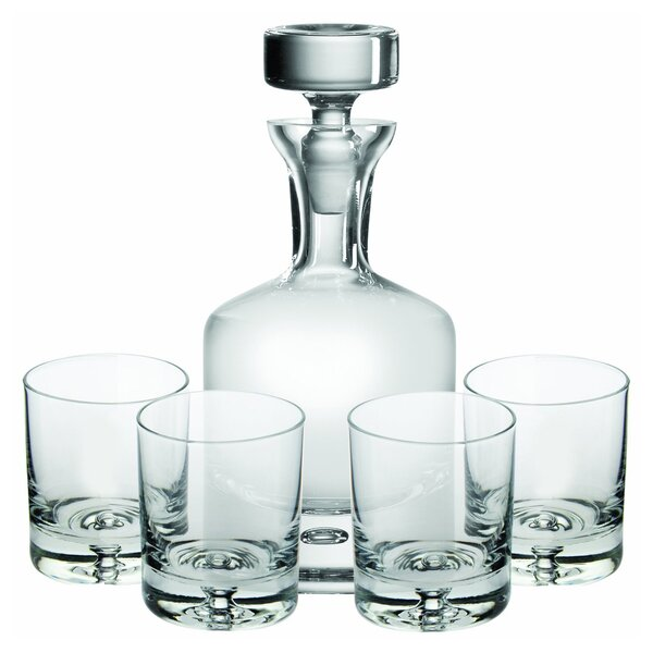 Taylor 5-Piece Decanter Set by Ravenscroft Crystal