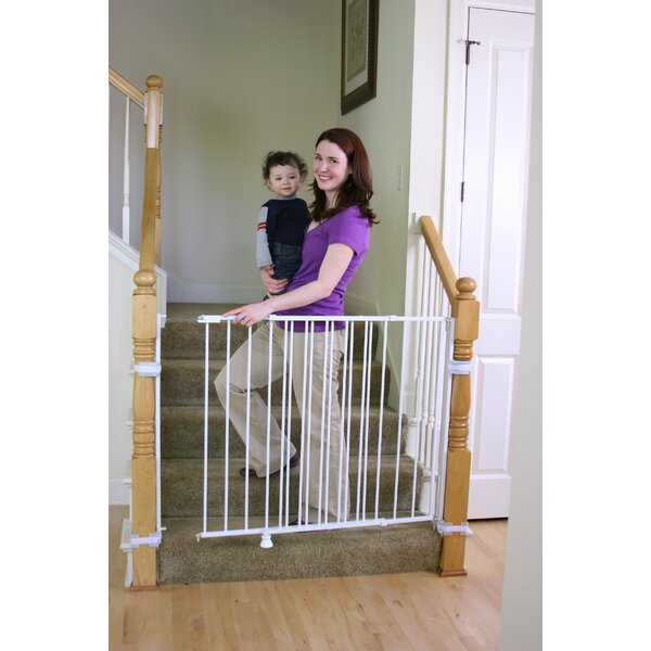 Top of Stairs Extra Tall Safety Gate by Regalo