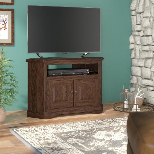 Glastonbury Solid Wood Corner TV Stand For TVs Up To 43