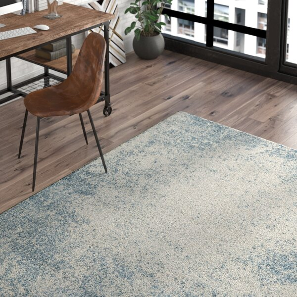 Terry Blue & Beige Area Rug by Trent Austin Design