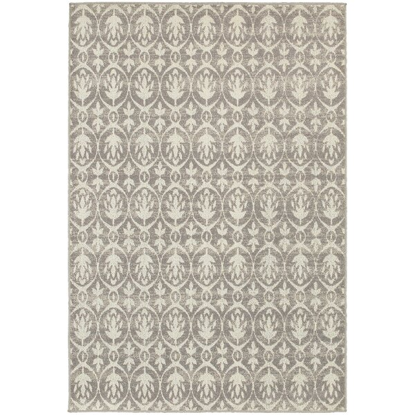 Brookline Grey/Ivory Area Rug by Threadbind