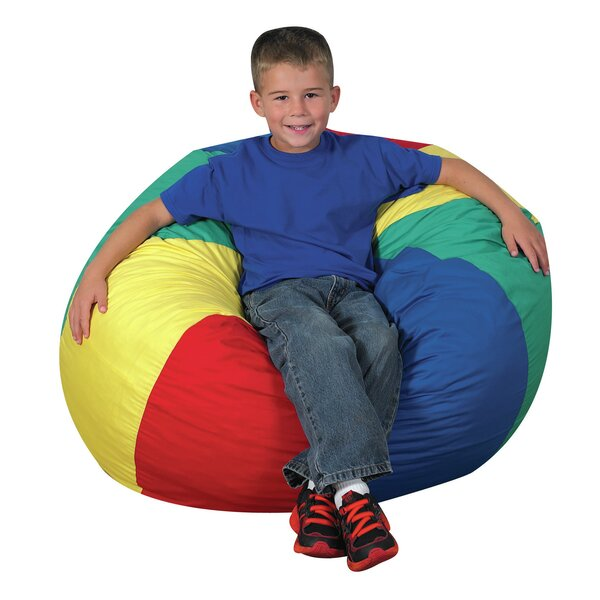 Beach Ball Bean Bag Chair by Children's Factory