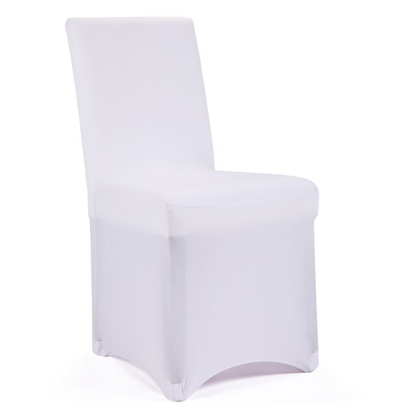 Banquet Wedding Party T-Cushion Dining Chair Slipcover By The Party Aisle