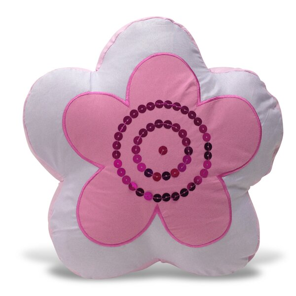 Flower Shaped Decor Pillow by Beco Home