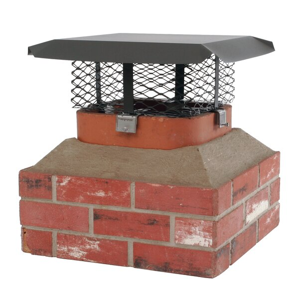 Shelter Adjustable Steel Chimney Cap By HY-C