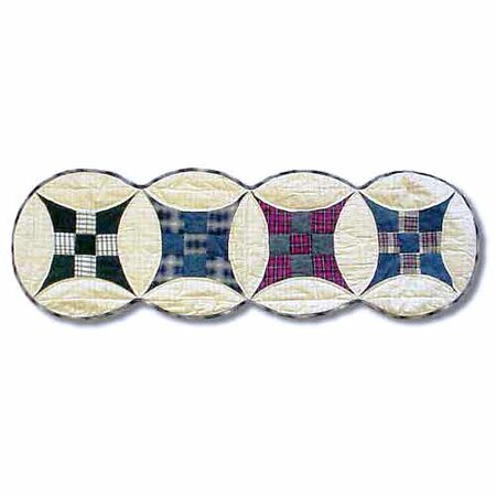 Enchanted Squares Table Runner by Patch Magic
