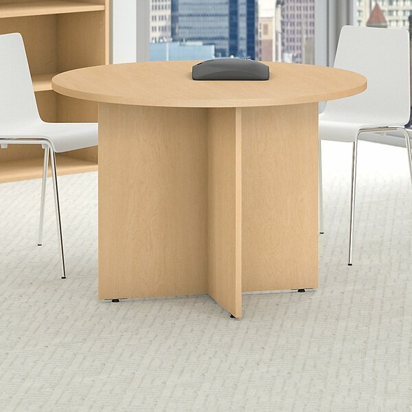Circular 29.66H x 41.38W x 41.38L Conference Table by Bush Business Furniture