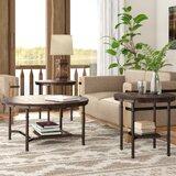Croley 3 Piece Coffee Table Set