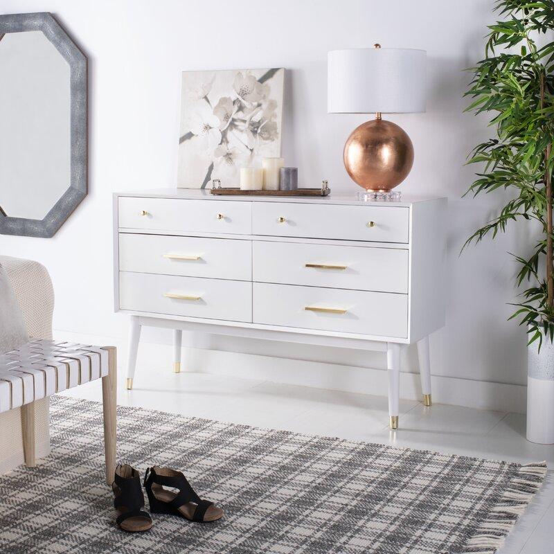 Lyla 6 Drawer Double Dresser