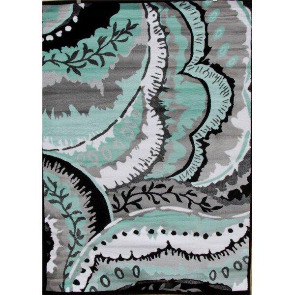 Chapman Turquoise Indoor/Outdoor Area Rug