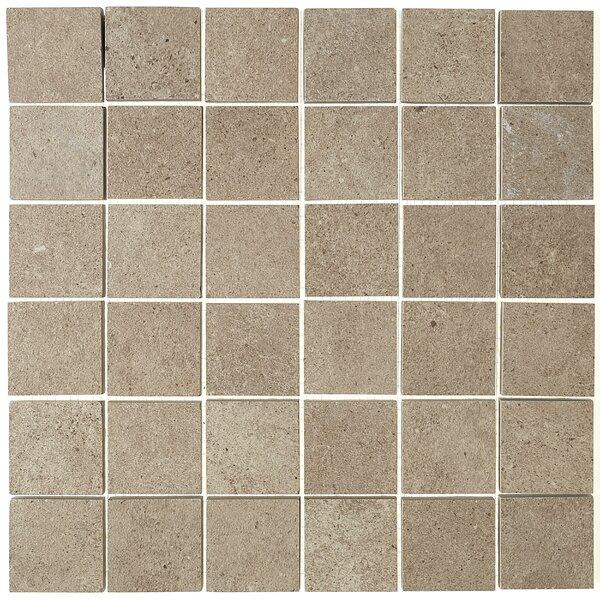 Haut Monde 2 x 2 Ceramic Mosaic Tile in Leisure Beige by Daltile