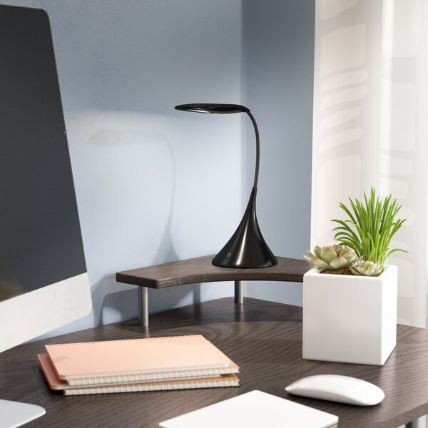 Combest Gooseneck Touch Sensor 18'' Desk Lamp by E