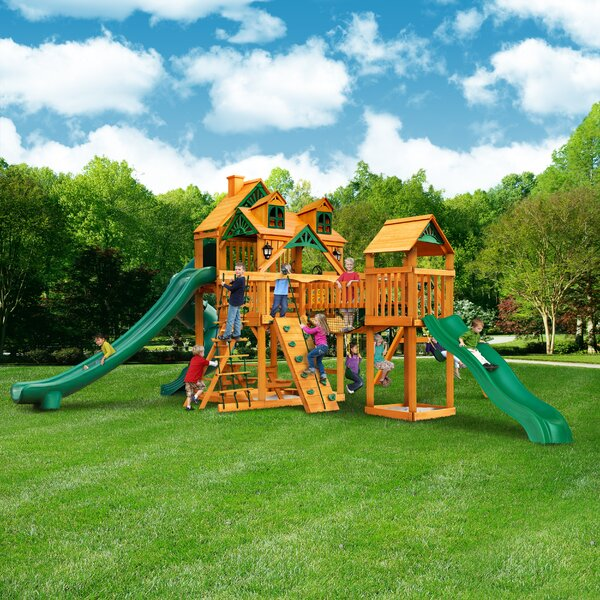 Treasure Trove II Swing Set by Gorilla Playsets