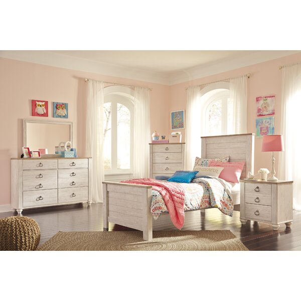 Naples Wood Panel Configurable Bedroom Set by Three Posts