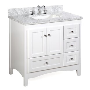 Save Kitchen Bath Collection Abbey 36 Single Bathroom Vanity Set