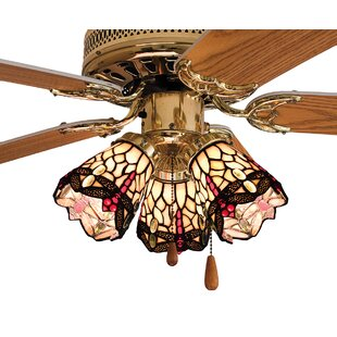 Ceiling fan fitter shades youll love wayfair 4 glass bowl ceiling fan fitter shade aloadofball Image collections