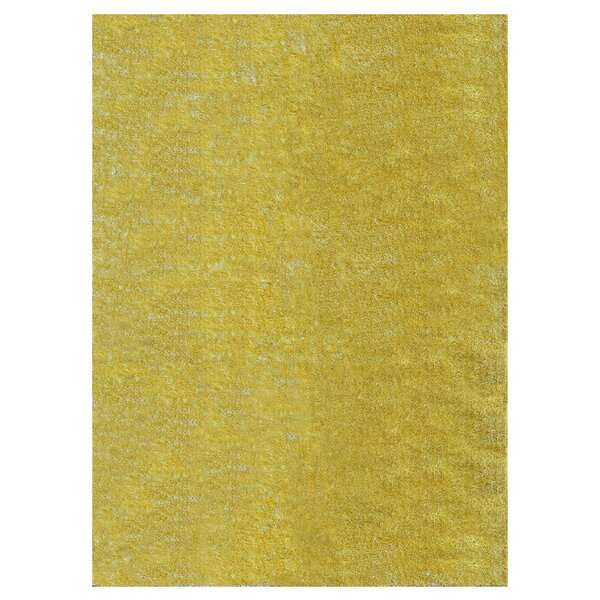 Andre Marigold Indoor/Outdoor Area Rug by Wade Logan
