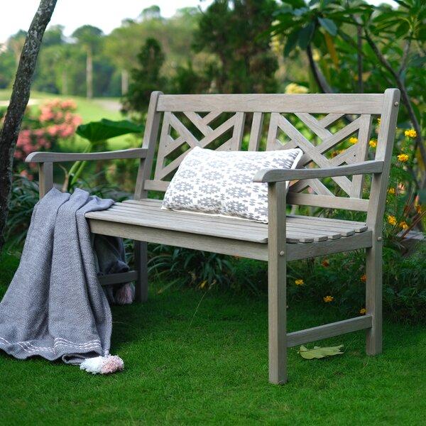 Schank Teak Garden Bench by Charlton Home