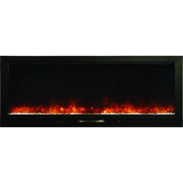 Decoteau Wall Mounted Electric Fireplace by Orren Ellis