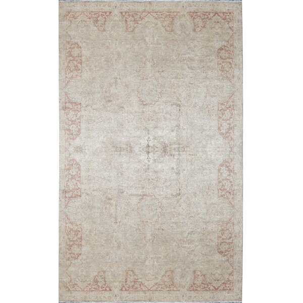 One-of-a-Kind Sona Hand-Knotted Gray 8'6 x 14' Silk Area Rug