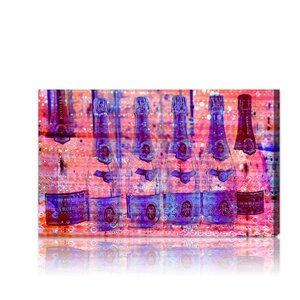 Cristal on Crystal Rose Graphic Art on Wrapped Canvas by Mercer41