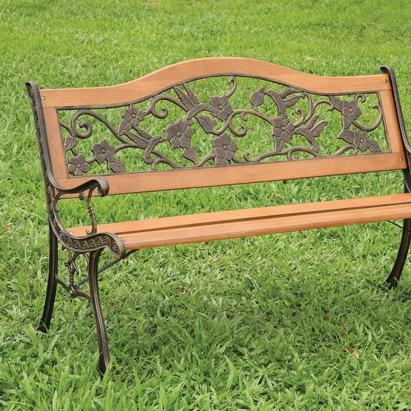 Leeson Cast Iron Park Bench by August Grove