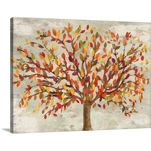 'Fall Foliage' by PI Studio Painting Print on Canvas by Great Big Canvas