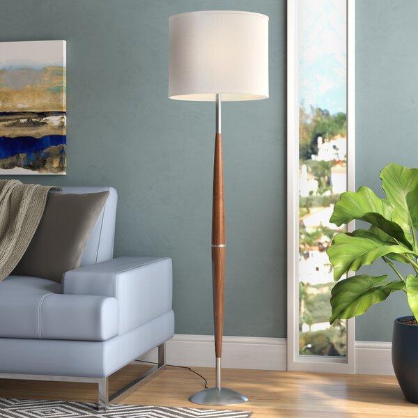 Uresti 61 Floor Lamp by Mercury Row