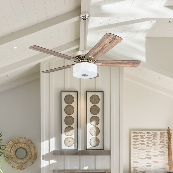 52 Pantano 5 Blade LED Ceiling Fan by Union Rustic