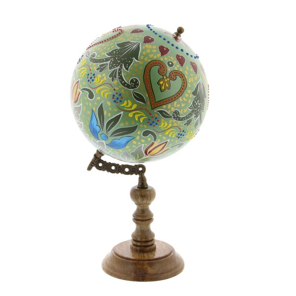 Globe Sculpture by Cole & Grey