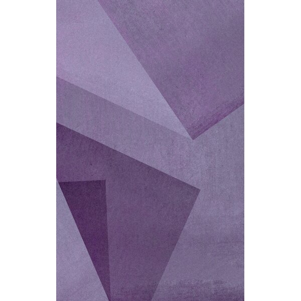 Purple Area Rug by Corrigan Studio