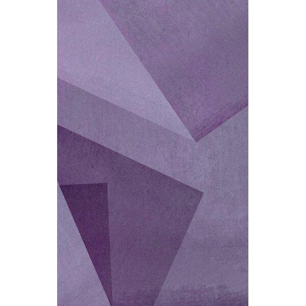 Purple Area Rug By Corrigan Studio.